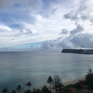 グアムの天気 7月2日 ツバキタワー開業sashi from Guam