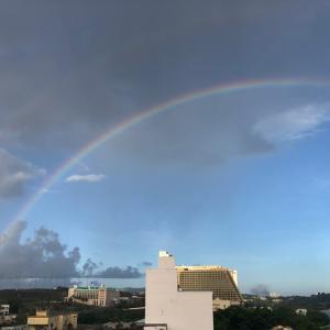 グアムの天気 7月4日 アメリカ独立記念日 sashi from Guam