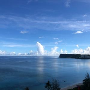 グアムの天気 7月9日 今日も快晴 sashi from Guam