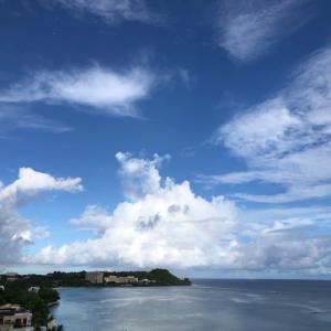 グアムの天気 7月11日 週末を sashi from Guam