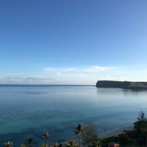 グアムの天気 7月12日 朝のニャンコ sashi from Guam