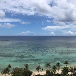 グアムの天気 7月21日 タモンビーチ sashi from Guam