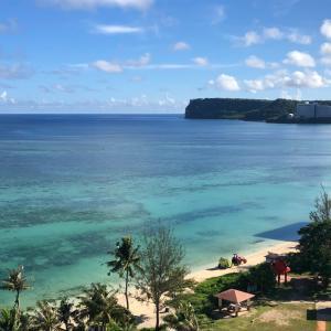 グアムの天気 7月23日 ビーチクリーン sashi from Guam