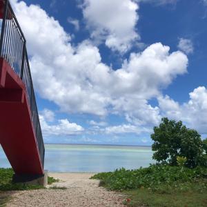 グアムの天気 7月23日 マタパンビーチ sashi from Guam