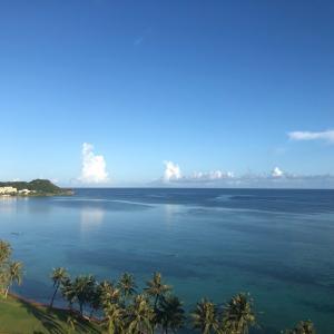 グアムの天気 7月24日 朝のタモン sashi from Guam