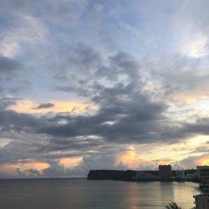 グアムの天気 7月27日 天気予報は大雨 sashi from Guam