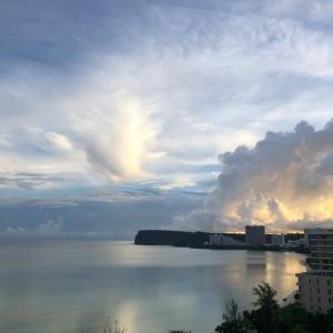 グアムの天気 7月30日 目力 sashi from Guam