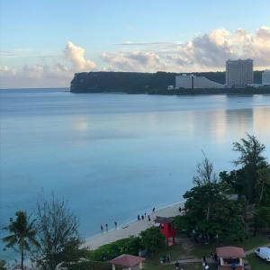 グアムの天気 8月1日 ビーチ清掃 sashi from Guam