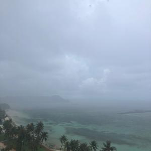 グアムの天気 雨季 sashi from Guam