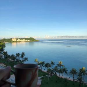 グアムの天気 朝呑み