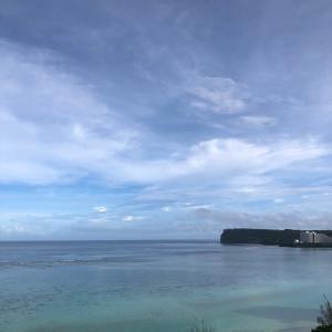 グアムの天気 恋人岬