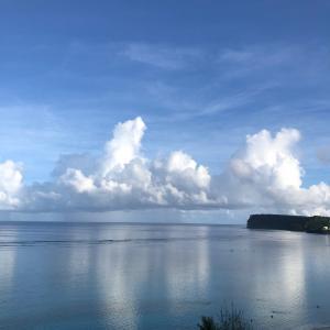 グアムの天気 爽快な朝