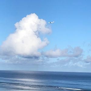 グアムの天気 JAL定期便 5分間隔で運行中