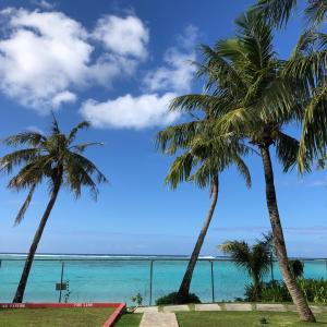 グアムの天気 ビーチ散歩