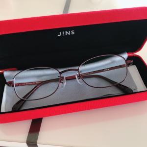 JINSでメガネ購入