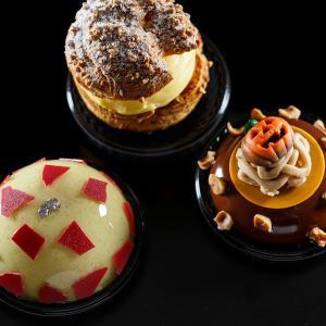 ザ・リッツ・カールトン東京『カフェ&デリ』2種のムースとシュークリーム 2019年10月