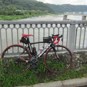 前日のリベンジで羽村堰【昼から走ったらばてた】