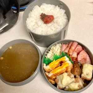 慌てて作ったお弁当(*⁰▿⁰*)