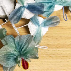 ■教室レポ■扇つまみを三方向から攻略!胡蝶蘭のコサージュ