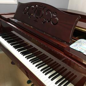 ピアノの配置