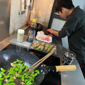 ▶︎第2弾!長男特製•肉巻き卵とじ弁当!