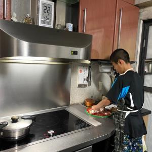 【長芋レシピ】二男、トロロ芋でお弁当作りに挑戦!