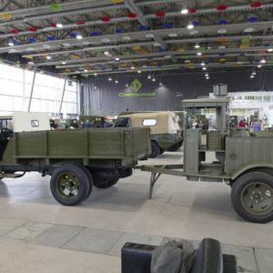 レストアされたKP-3-37野戦炊事車