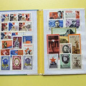 ソ連から届いた切手帳