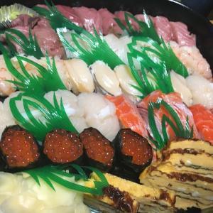 回るお寿司じゃないよ!寿し鶴のお寿司をテイクアウト