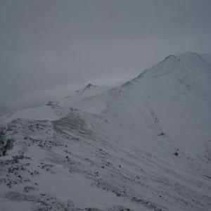 ちょいと冬山登山