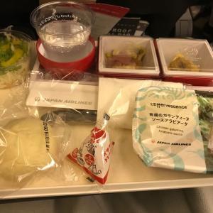 JAL ハワイ便 機内食