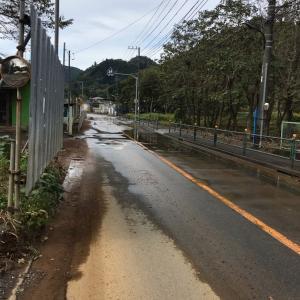 【台風19号関連情報】和田峠サイクリングはしばらくやめたほうがいいです