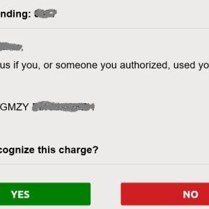 クレジットカード不正使用