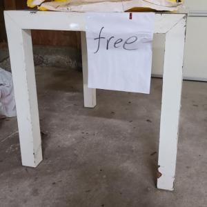 無料の家具を拾いました