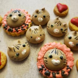 色んな可愛いメレンゲクッキー