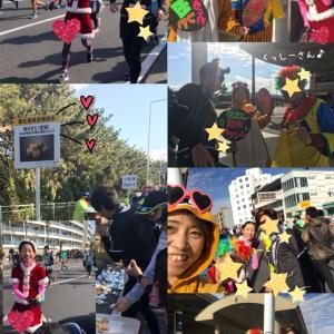湘南国際マラソン2♪富士山とうれしい応援とエイドとメダルとゴール♪☆