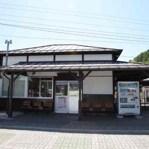 小海線「羽黒下駅」駅スタンプ