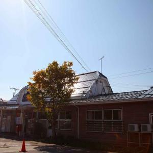 信越本線「黒姫駅」駅スタンプ