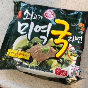 韓国ラーミョン作ってみた!
