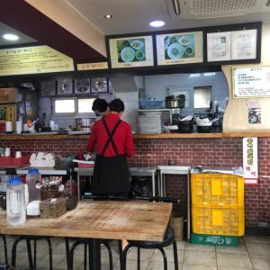 [東大門]東門食堂でコンナムルクッパ※リピート店