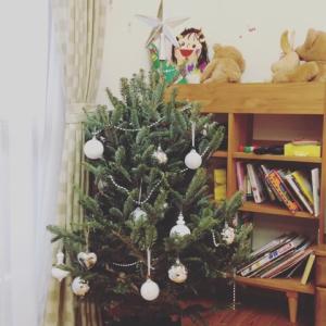 12/7の勉強と初クリスマスツリー