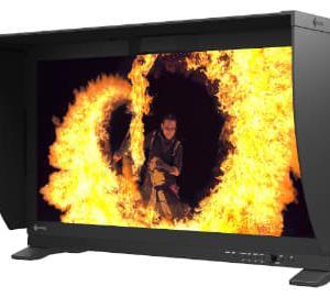 EIZO、世界初のキャリブレータ内蔵式4K/HDR対応31.1型液晶。価格は300万円台