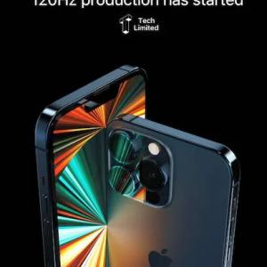 iPhone13 Pro用LTPOディスプレイの製造ラインを増設〜生産数増加へ