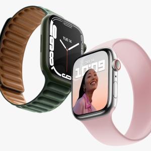 「Apple Watch Series 7」発表。本体サイズ変えず大画面化/初の防塵対応