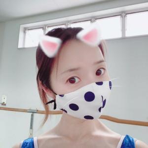 ドットのマスク☆