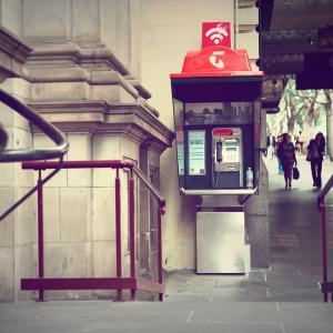 全国でテルストラ公衆電話とWiFiスポットが無料に!