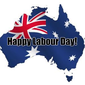 オーストラリアの勤労感謝の日「レイバーデー」