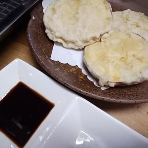 さつまいも天ぷら 何味で食べますか 醬油派いますか
