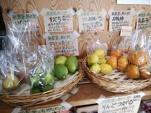 人気 地元の無農薬レモンが収穫入荷開始 午後に平飼い有精卵が入荷