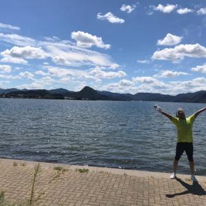 健康ジョギング in 久美浜湾一周コース・・・半端ないって〜!